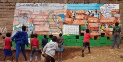 DARAJA Wall Mural in Kibera Nairobi