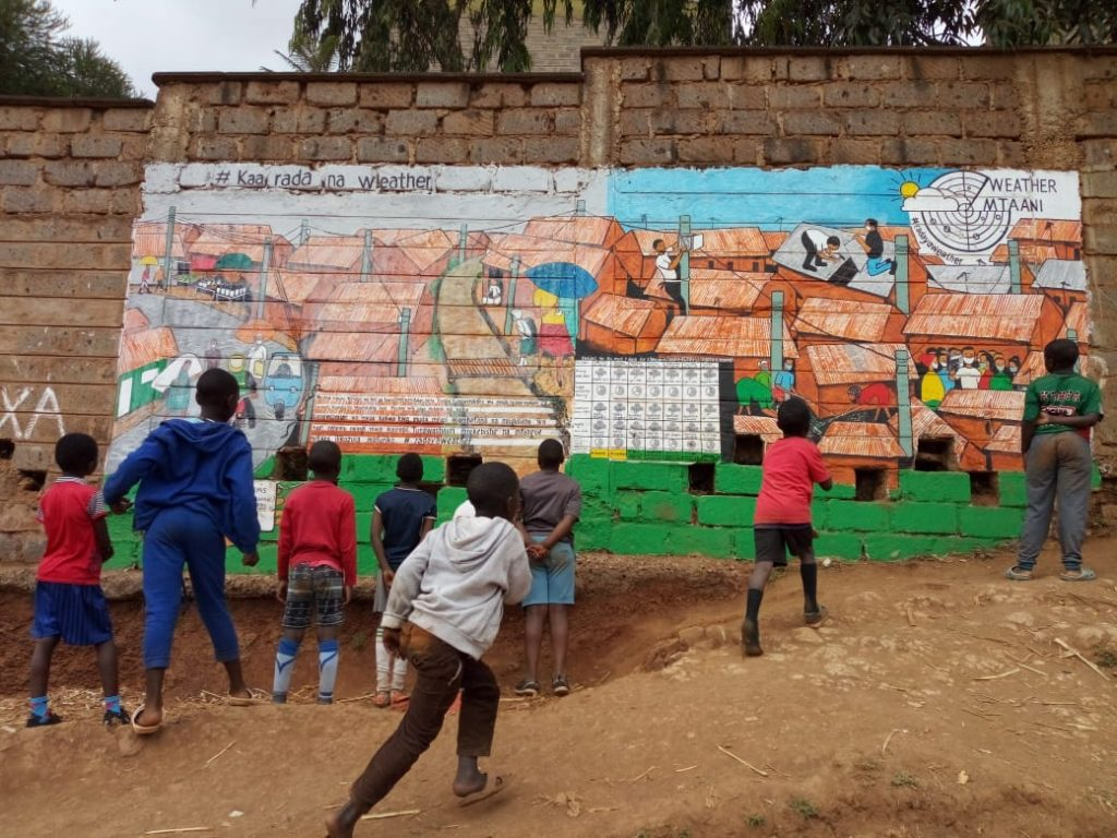 Street Art inspires communities to take climate action in Kenya