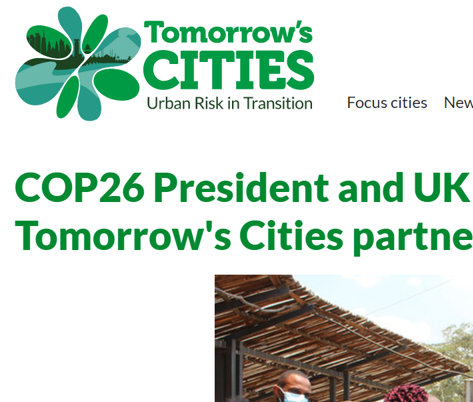COP26 President and UK High Commissioner to Kenya visit Tomorrow's Cities partner