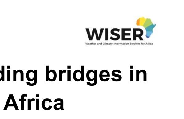 WISER: Building bridges in East Africa