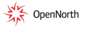 open north