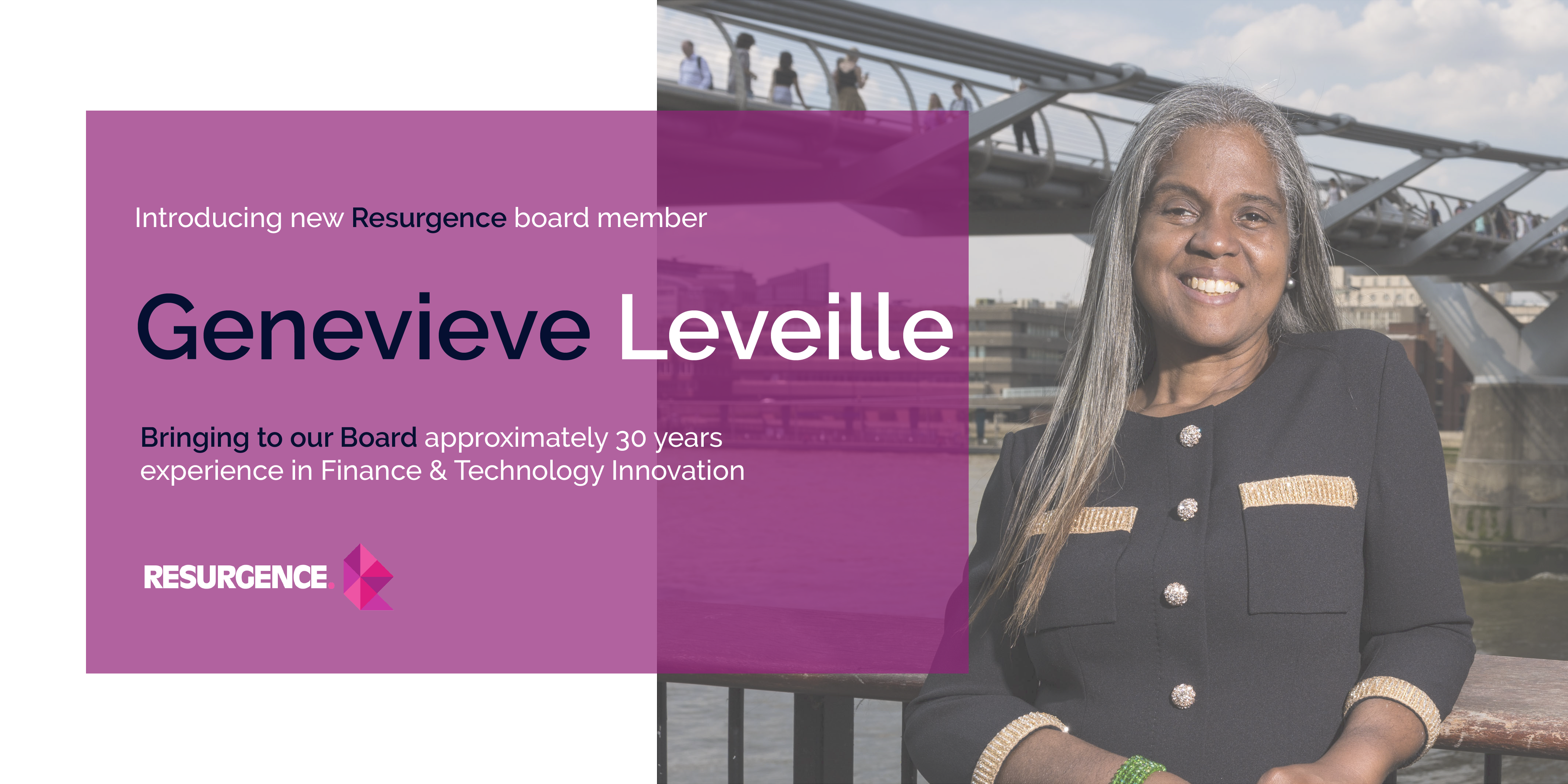 Resurgence welcomes CEO of AgriLedger, Genevieve Leveille to the Board